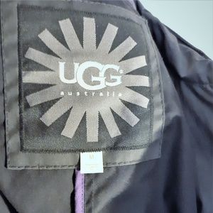 UGG All Weather Waxed Linen Rain Snow Cape Size M